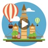 Hueliday: World Travel Animated Stickers