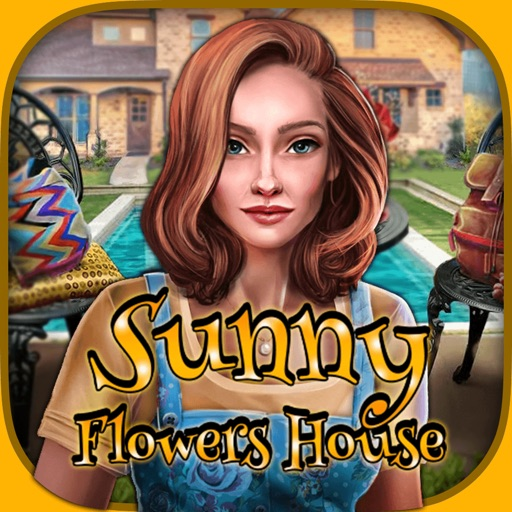 Sunny Flowers House - Search Games iOS App