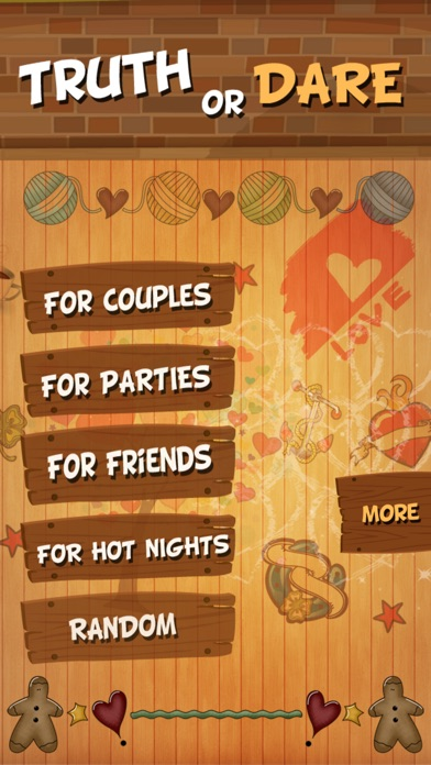 Screenshots of TRUTH or DARE - Hot Dirty Game for Sexy Nights for iPhone