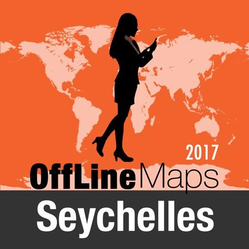 Seychelles Déconnecté carte et guide de voyage