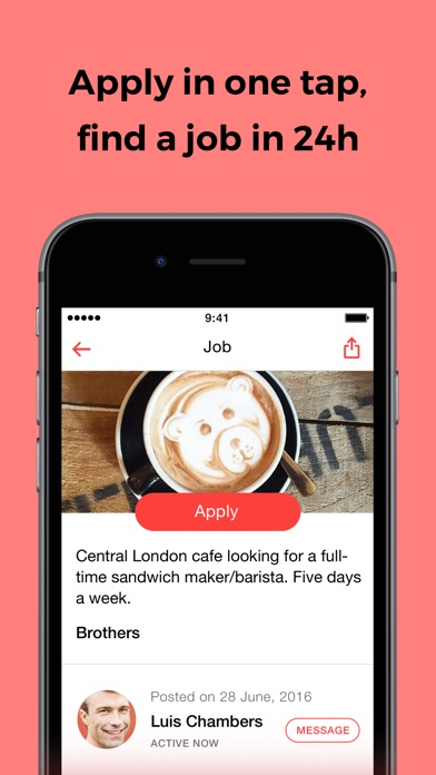 download JOB TODAY – find jobs in 24h appstore review