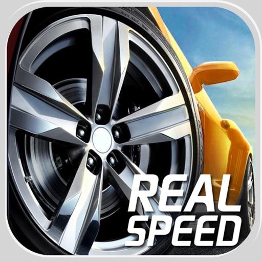 Real Speed 3D,car racer games iOS App