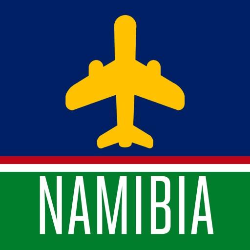 Namibie Guide de Voyage avec Carte Offline