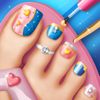 Toe Nail Salon Game for Fashion Girls: Foot Nail Makeover and Pedicure Designs