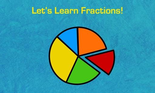 Learning Basic Fractions for Kids iOS App