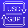 US Dollars to British Pounds currency converter
