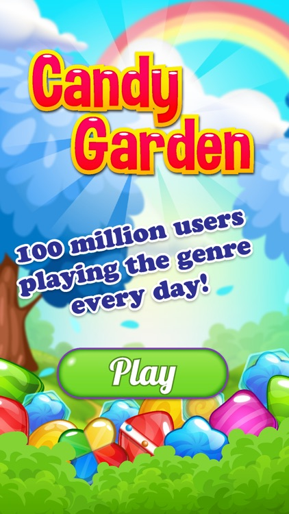Candy Garden Connect Sweet Candies by mick roya