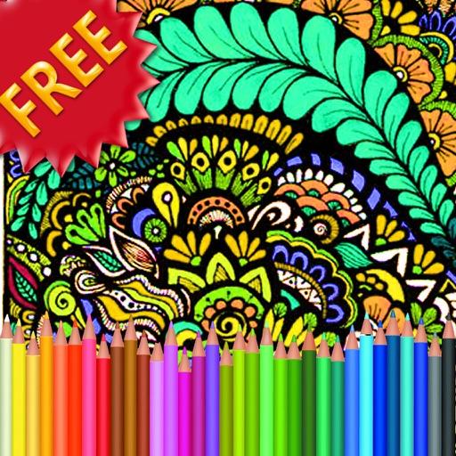 Adult Coloring Book Fractals iOS App