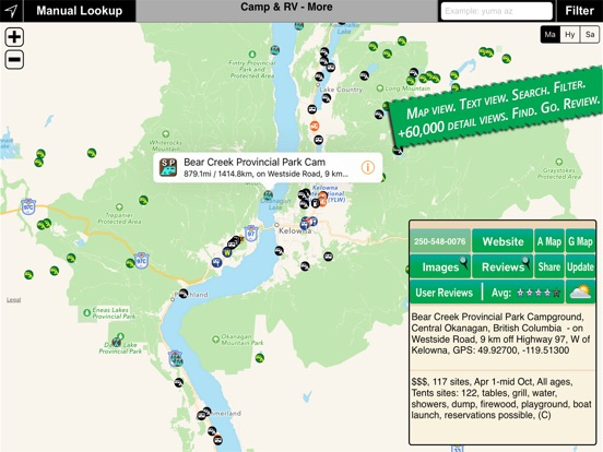 Camp RV Tents To RV Parks On The App Store - Us road map for ipad