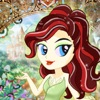 Princess Fairy Tale Dress Up Fashion Designer Pop Games Free for Girls