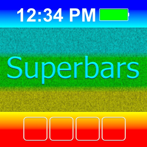 Superbars create your own wallpapers by amaxim apps inc for Design your own wallpaper