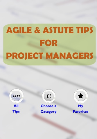Agile Project Manager Tips screenshot 1