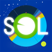 Sol: Sun Clock - sunrise, sunset, and golden hours. Solar alarm clock. icon