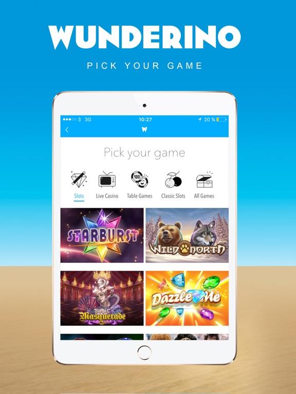 wunderino casino app