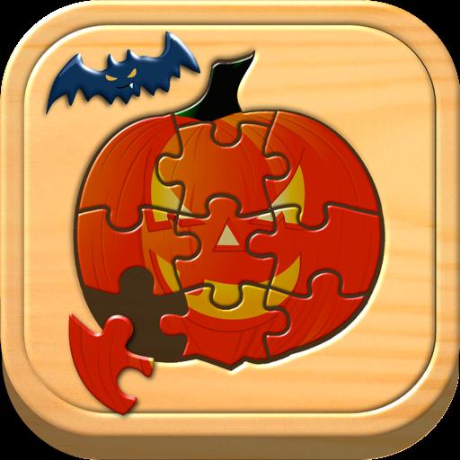 孩子们万圣节拼图和逻辑游戏 for Mac