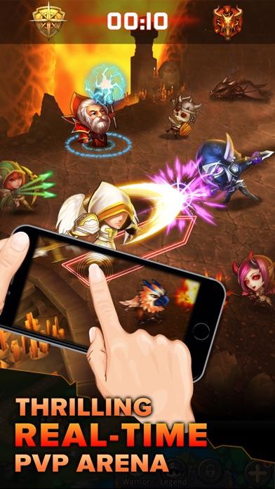 Heroes Tactics : PvP Strategy Game Screenshot