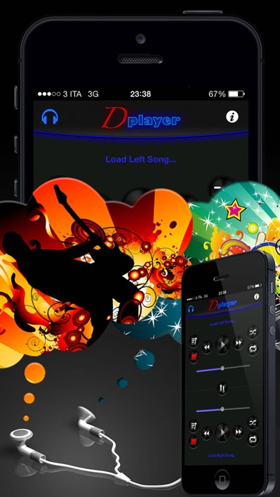 Screenshot #8 for Double Player for Music with Headphones Pro