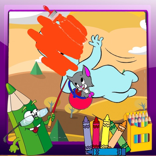 Coloring Page For Kids Game Casper Version iOS App
