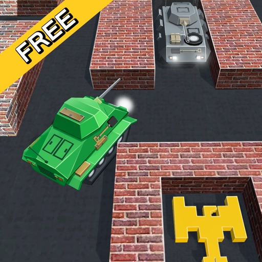 Cube Armored Battle: Tank Destroyer 3D iOS App