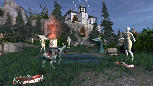 Goat Simulator GoatZ Screenshots