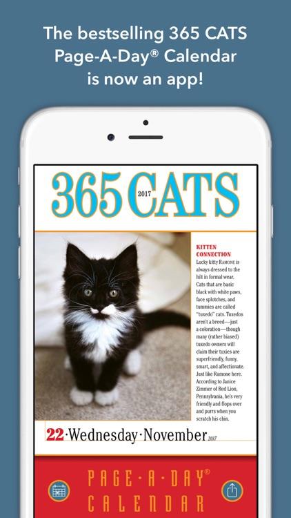 365 Cats PageADay Calendar 2017 by Oceanhouse Media