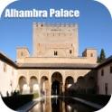 Alhambra Palace Granada Spain Tourist Travel Guide icon