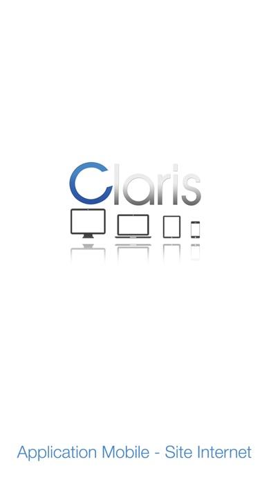 Claris App MobileCapture d'écran de 1