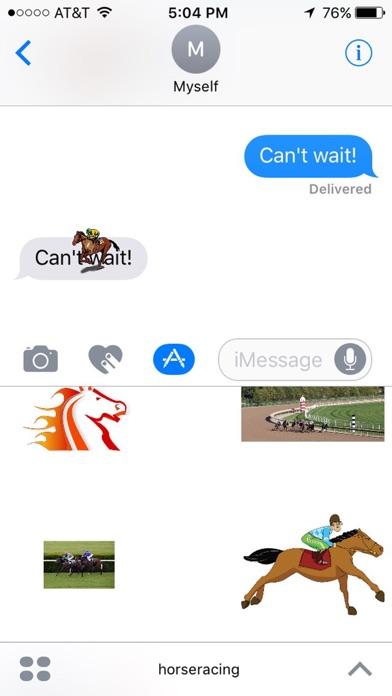 Horse Racing Stickersのスクリーンショット2