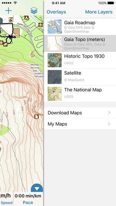 Gaia GPS Classic IPA Cracked for iOS Free Download