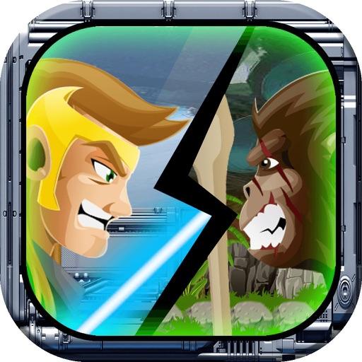 Star Commander vs Apes – Castle Defense Games Free iOS App