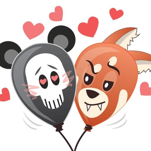 halloween-panda-balloons