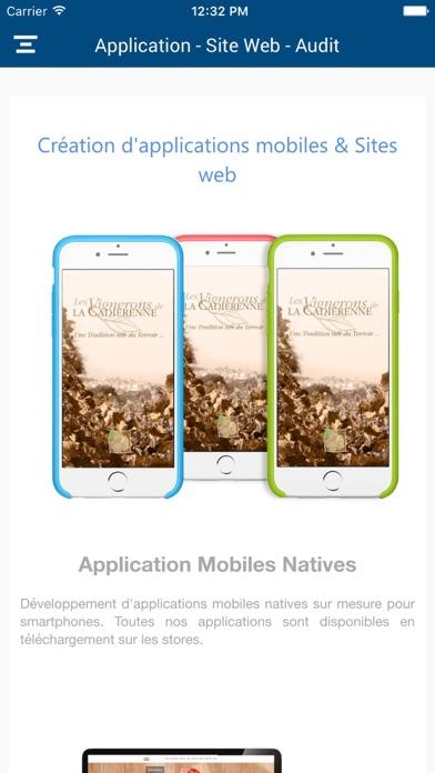 Claris App MobileCapture d'écran de 2