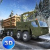 Winter Logging Truck Simulator 3D game free for iPhone/iPad