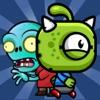 Aliens Run Zombies