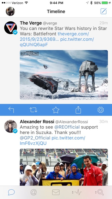 Tweetbot 4 for Twitter screenshot1