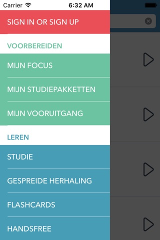 Dutch | Chinese - AccelaStudy® screenshot 1