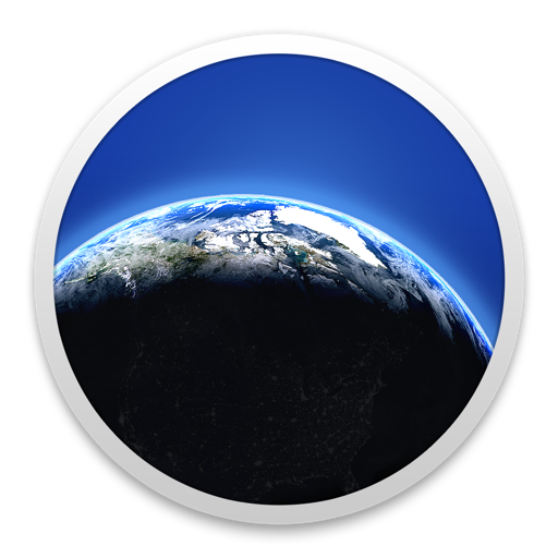 Living Earth - Desktop Weather & World Clock for Mac
