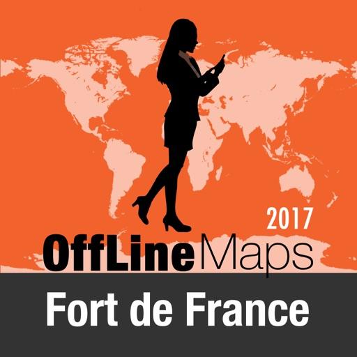 Fort de France Mappa Offline e Guida Turistica