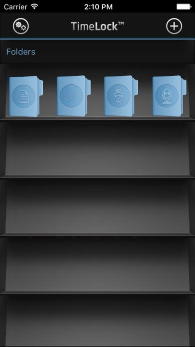 TimeLock Pro: Encrypted Vault Screenshots