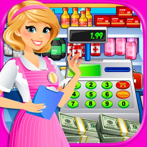 Hospital Cash Register Sim: Supermarket Games FREE iOS App