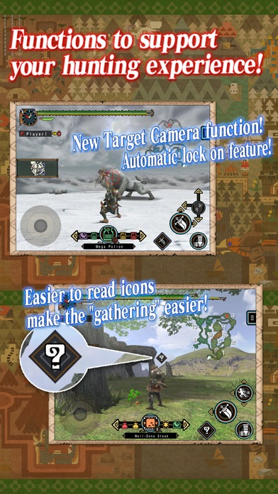 Screenshot for MONSTER HUNTER FREEDOM UNITE for iOS in Philippines App Store