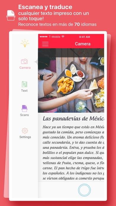 download Escaner & Traductor - convertir foto a texto apps 0