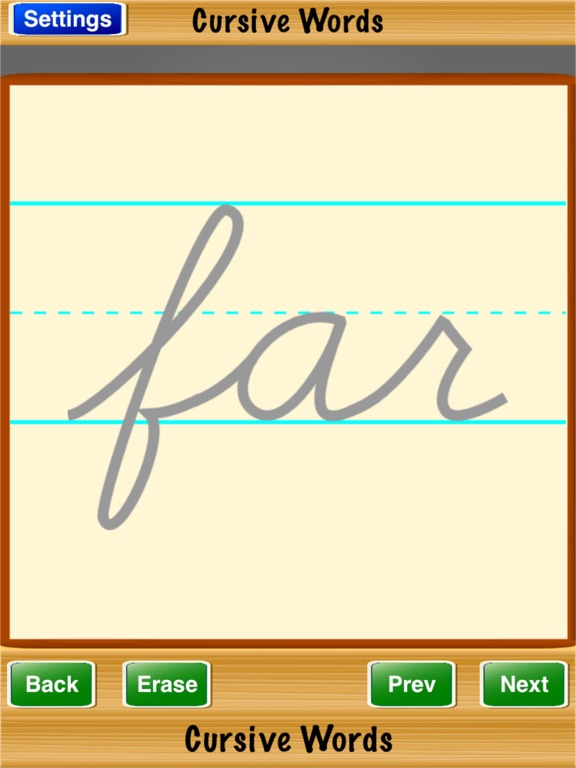 Cursive Words on the App Store