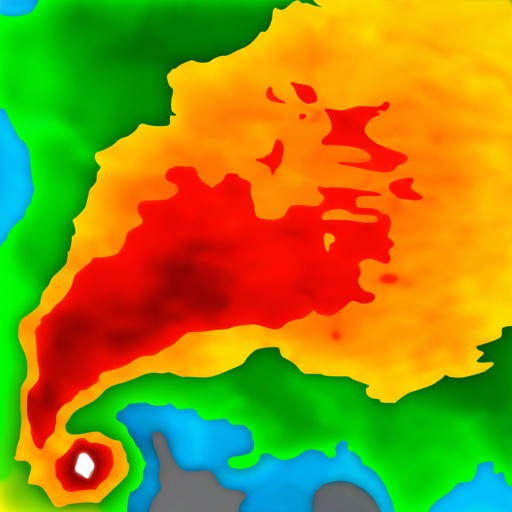 NOAA Radar Pro – Weather Alert... app for ipad