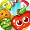 Happy Fruits Match Crush crush fruits super