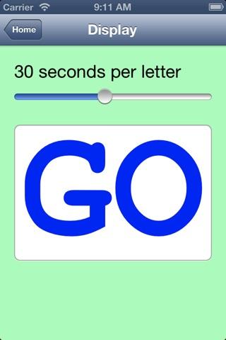 Australian Animal Alphabet screenshot 2