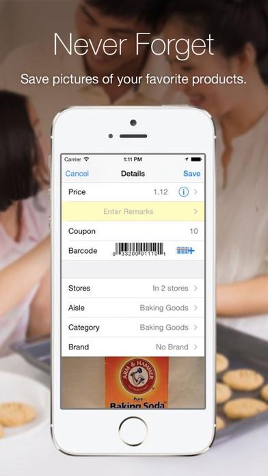 Grocery Gadget - Shopping List Screenshot 4