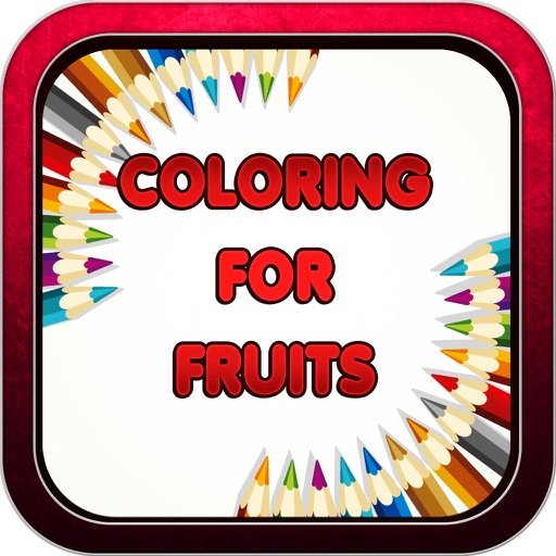 Color Book Game for Fruits: Welcome to Coloring Shopville Pincel App