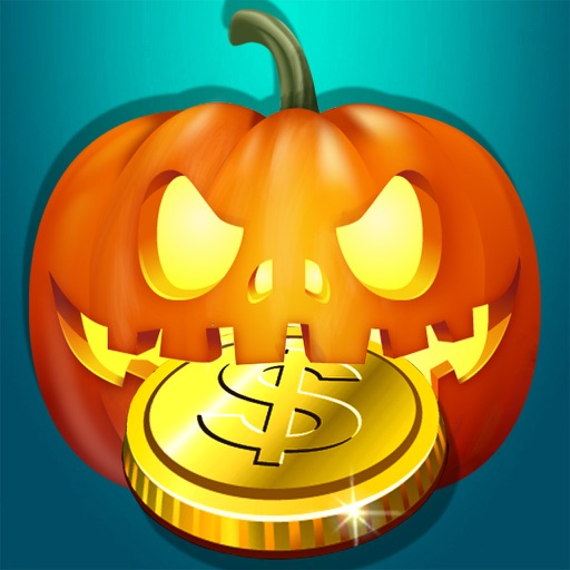 Halloween Coin Dozer haunted Coins pusher PRO iOS App