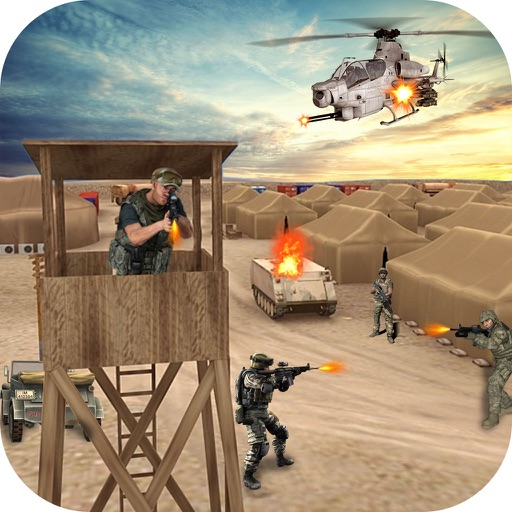 Elite Commando Action iOS App